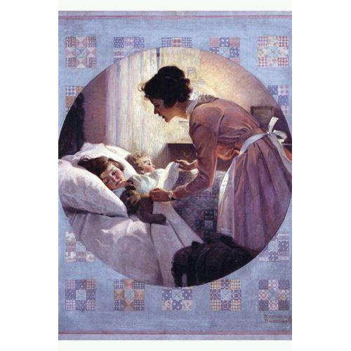 Mother's Little Angels Postcard