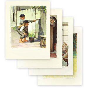 Tom Sawyer Portfolio of Eight Limited Edition Signed Prints