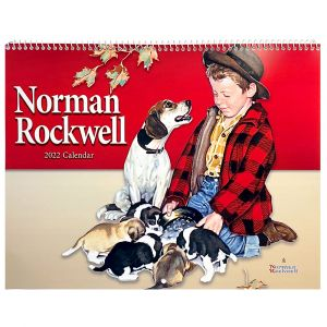 Norman Rockwell 2022 Appointment Calendar