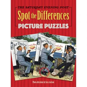 Saturday Evening Post Spot the Differences Picture Puzzles