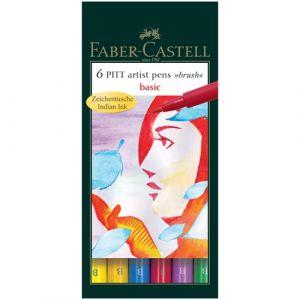 Artist Pen Set with Brush Tips