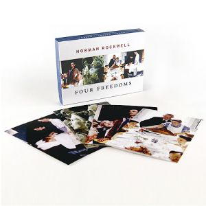 Box of 20 Four Freedoms Notecards