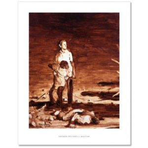 Murder in Mississippi Study (Southern Justice) Custom Giclee Print