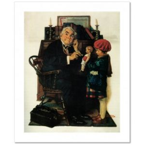 Doctor and Doll Custom Giclee Print