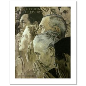 Freedom to Worship Custom Giclee Print