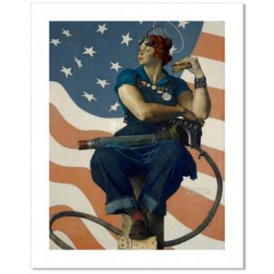 Rosie the Riveter Custom Giclee Print