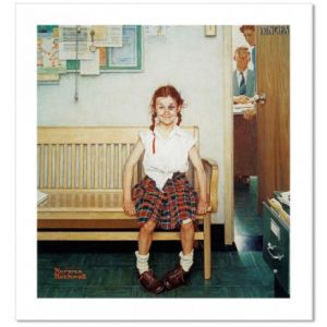 The Young Lady with the Shiner Custom Giclee Print