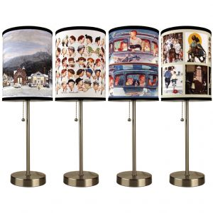 Norman Rockwell Table Lamp