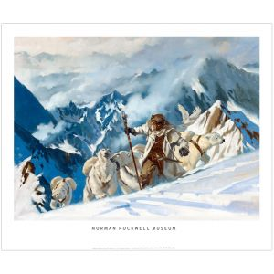 Above the Timberline Print by Gregory Manchess