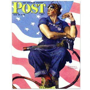 Rosie the Riveter Notecard