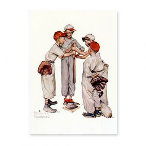 Sporting Boys Baseball Postcard
