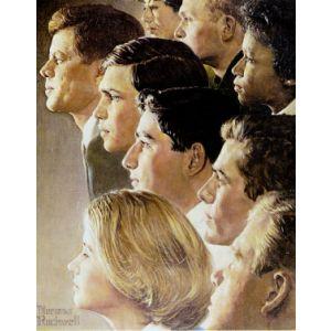 Peace Corps with John F. Kennedy Postcard