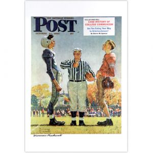 Coin Toss (The Referee) Signed Print