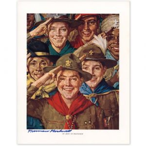 An Army of Friendship Signed Print