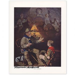 Scout Memories Signed Print