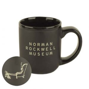 Captain's Mug, Black with Museum Logo