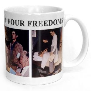 Four Freedoms Mug