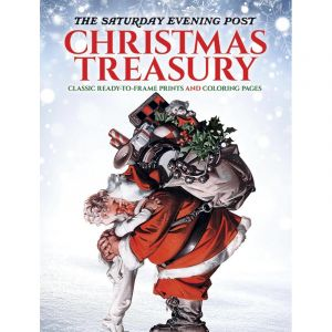 The Saturday Evening Post Christmas Treasury Coloring Book