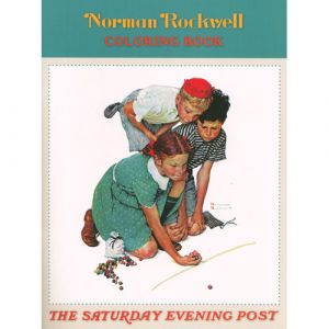 Norman Rockwell Saturday Evening Post Coloring Book