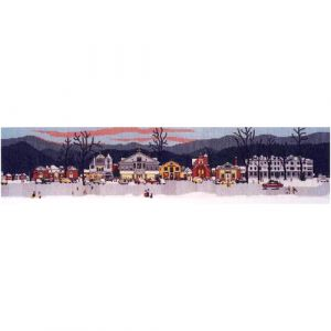 Main Street Stockbridge at Christmas Counted Cross Stitch Kit